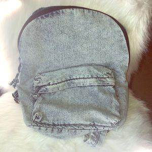 Denim Backpack 🎒